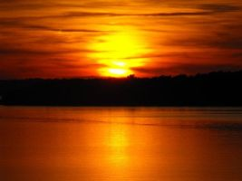 My Favorite River Sunset by laners-08