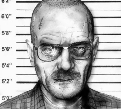 Walter White by phantomphreaq
