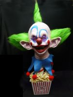 KILLER KLOWNS SHORTY DISPLAY by chuckjarman