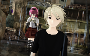 [MMD] James' Ghost by DestinyFailsUs