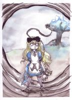 Alice versus Wonderland by Drunkfu