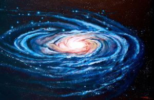 Universe series-Black Hole by MALFineArt