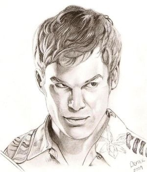 Dexter Morgan by BadCatMeow