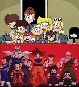 The Loud House are ready to see Dragon Ball Z by 0640carlos