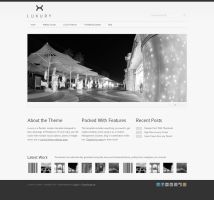 Luxury Wordpress Template by lickmystyle