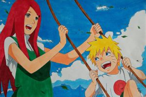 What could have been... Kushina and Naruto (RtN) by SakakiTheMastermind