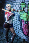 SUICIDE SQUAD - Harley Quinn cosplay by LionaDeshanel
