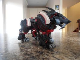Tomy Zoids - Brastle Tiger by IrishWolven