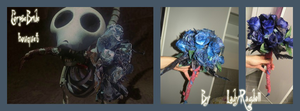 Corpse Bride Bouquet by Lady-Ragdoll