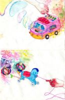 camionsito y caballito by vainille
