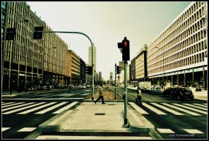 Milano Street-Man by OviXPhotography