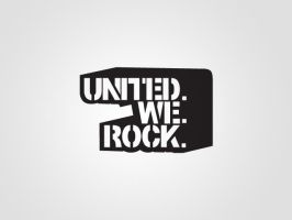 United We Rock Logo by artjective