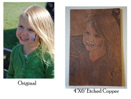 Etched copper photo by creativeetching