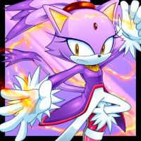 Blaze The Cat(Guardian of the Sun) by CristianHarold0000