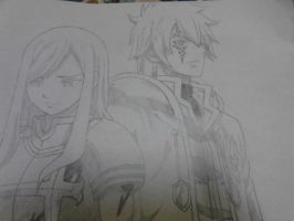 Fairy tail -erza and jellal by kevinsky17