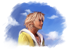 Tidus by kittenangel116