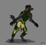 Wolf in Dinosaur's Clothing by rockingyourstar