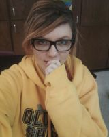 Boyfriend hoodie, And glasses by ArielNicole95