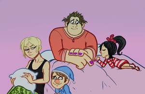 WiR Sleepover by Super-Cute