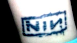 Nine Inch Nails tattoo by supergirlher