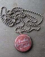 Nuka-Cola Bottlecap Necklace by PunkTrunk