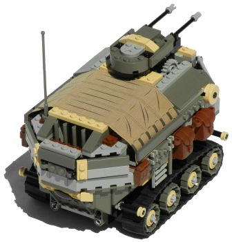 'Rhino' Heavy Diesel Personnel Carrier Mk. XXVIII by RRaillery