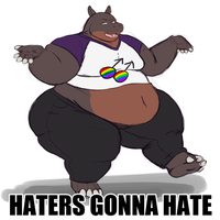 Haters Gonna Hate by Kazecat