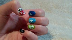 Anti SOPA Request - Nail Art 11 by vukery