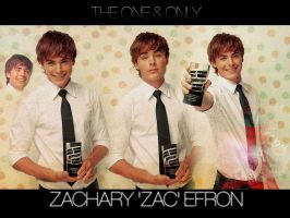 Zac Efron Wallpaper by ashley-germany