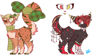 [Offer to Adopt Auction/CLOSE] Cuties and Beauties by LacedStargazing
