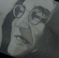 John Lennon Art For My Dad by X2j2012