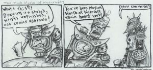 Too much World of Warcraft by JenL