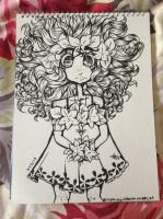 Girl with a lot of hair... by KIBBLK9