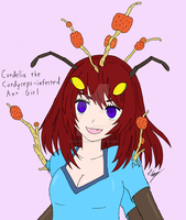 Cordelia the Zombie Ant Monster Girl by The-Episiarch