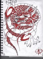 Chinese Lung Dragon by shadowfox94