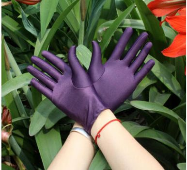 purple tight gloves by 1982colin