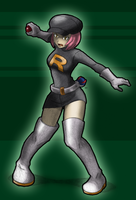 Team Rocket Grunt: Female by Mrockz