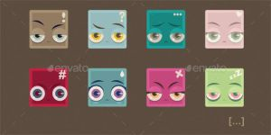Squared Emotions by InterGrapher