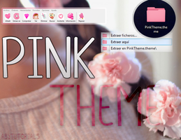 Pink Theme - WinRAR by ForeverYoung320