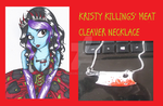 Kristy Killings' necklace by erondagirl