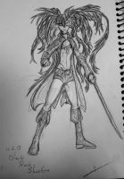 Black Rock Shooter sketch 12.6.12 by itamar050