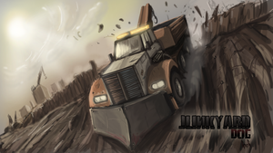 Junkyard Dog -Twisted Metal Redesign by Helios437