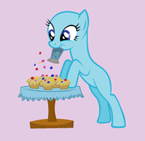 Sprinkle The Cupcakes Base by Rain-Approves