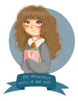 Hermione Granger. by letrobini