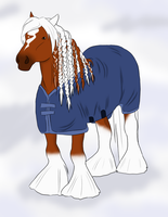 Persephone In Snow by snailsrawk