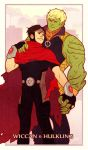 Commission: Wiccan and Hulkling by Lelia