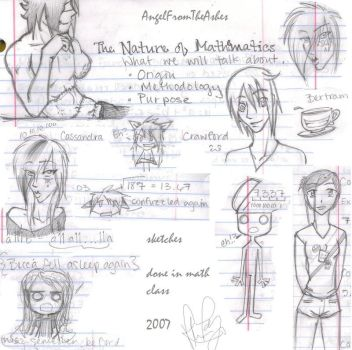 Sketches from Math by AngelFromTheAshes