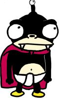 Nibbler with colour by OMFGBrot