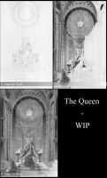 The queen - WIP by Svera