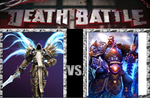 Death Battle Avatars of Justice by userup